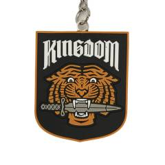 WALKING DEAD KINGDOM FACTION KEYCHAIN