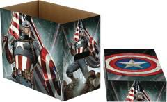 MARVEL COMICS CAPTAIN AMERICA STARS 5 PK SHORT COMIC BOX