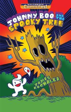HCF 2018 JOHNNY BOO & THE SPOOKY TREE MINI COMIC