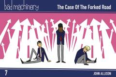 BAD MACHINERY POCKET ED TP 07 CASE FORKED ROAD