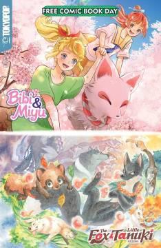 FCBD 2020 BIBI MIYU & FOX LITTLE TANUKI