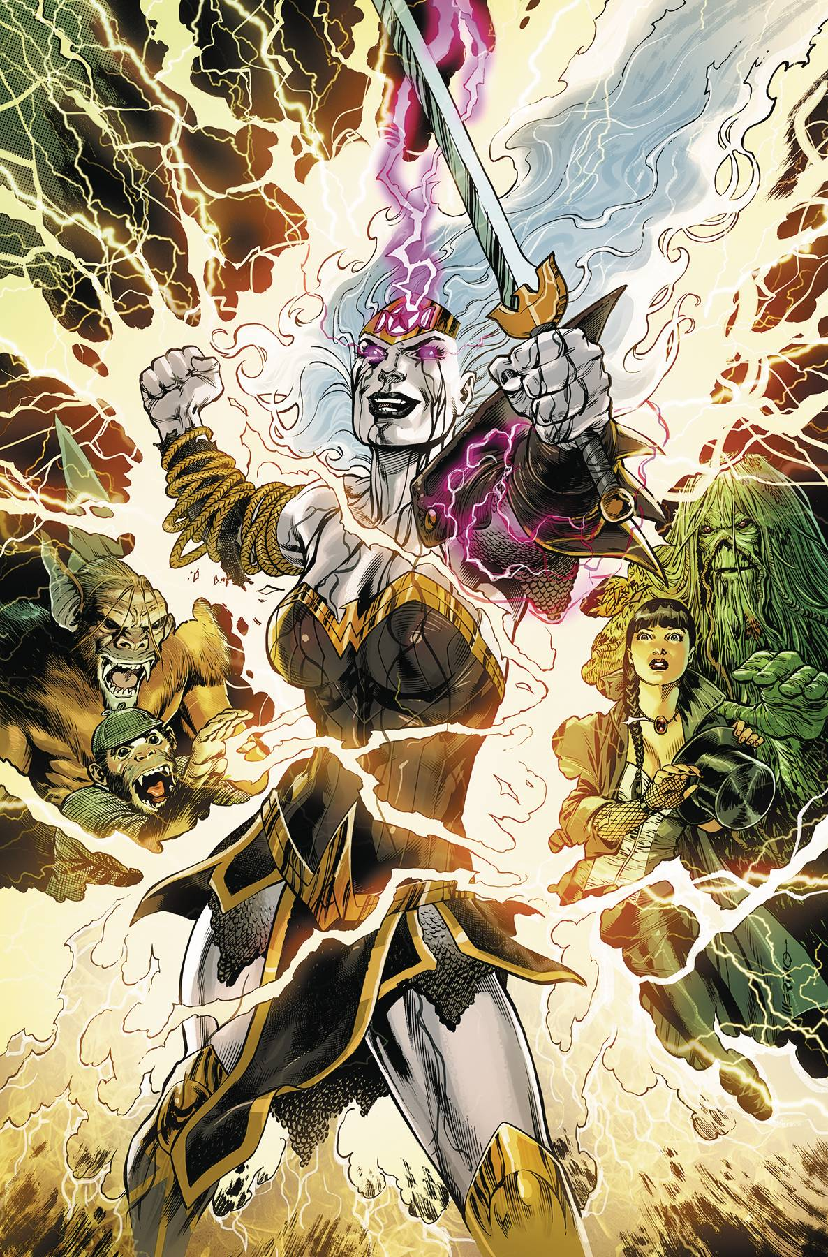 WONDER WOMAN & JUSTICE LEAGUE DARK WITCHING HOUR TP