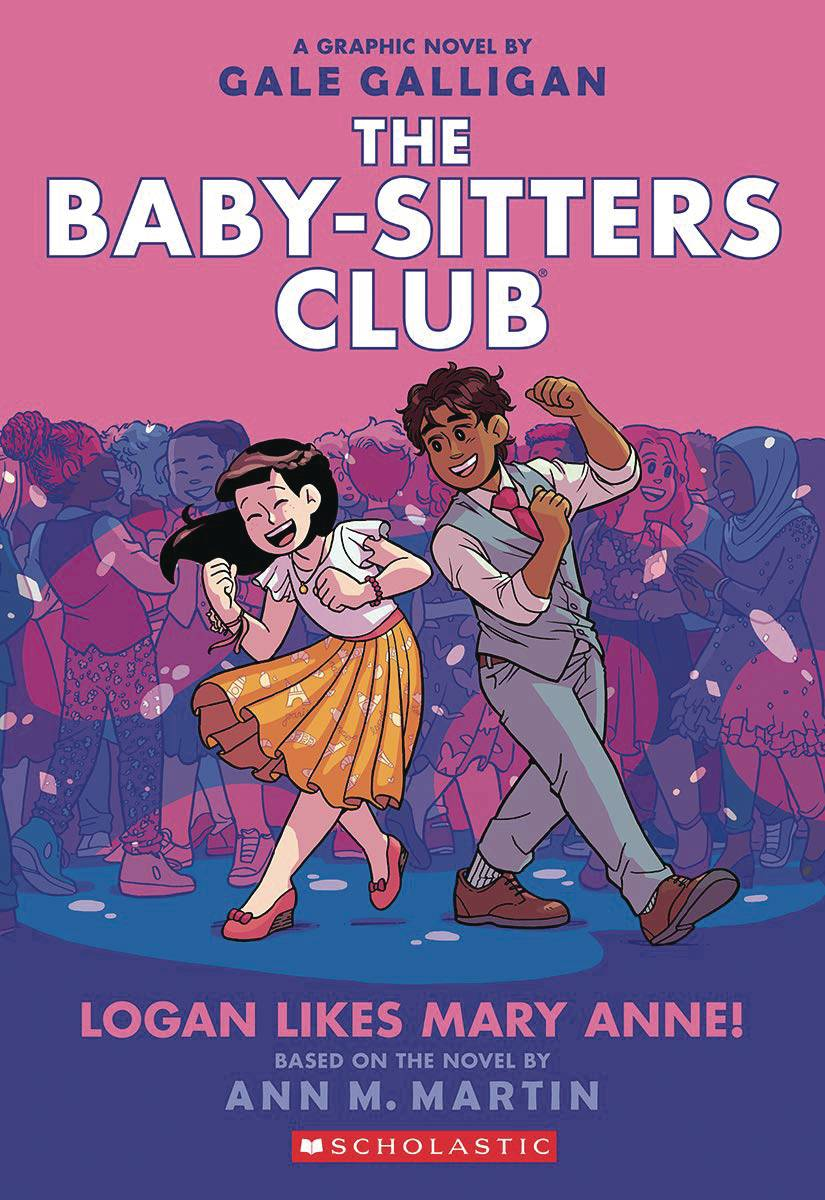 BABY SITTERS CLUB COLOR ED HC 08 LOGAN LIKES