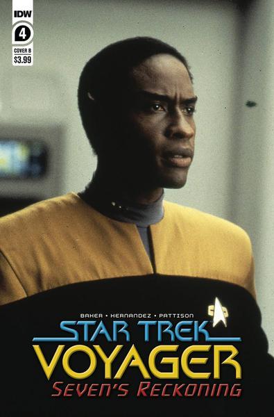 STAR TREK VOYAGER SEVENS RECKONING