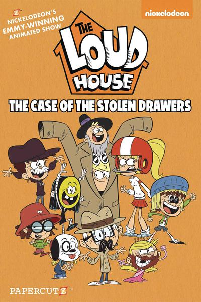 LOUD HOUSE HC 12 CASE STOLEN DRAWERS