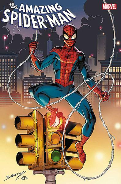 DF AMAZING SPIDERMAN #66 SPENCER SGN