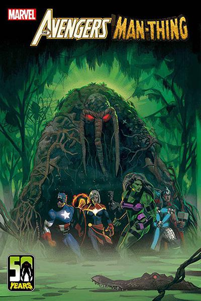DF AVENGERS CURSE OF THE MAN THING #1 ORLANDO SGN