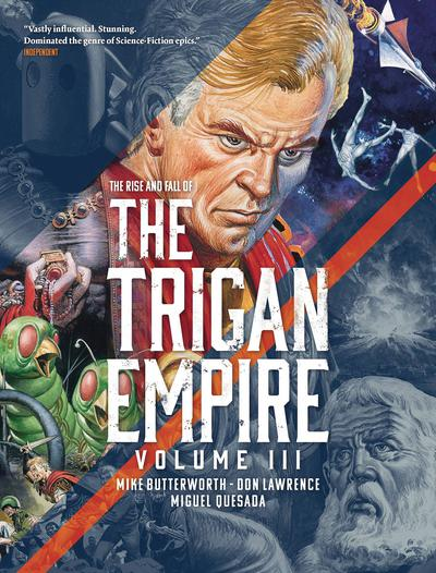 RISE AND FALL OF TRIGAN EMPIRE TP 03