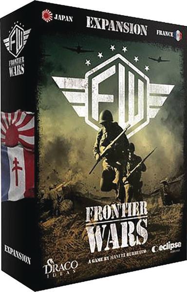 FRONTIER WARS FRANCE JAPAN BOARD GAME EXP