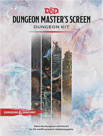 D&D RPG DUNGEON MASTERS SCREEN DUNGEON KIT