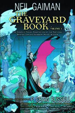 NEIL GAIMAN GRAVEYARD BOOK HC 01