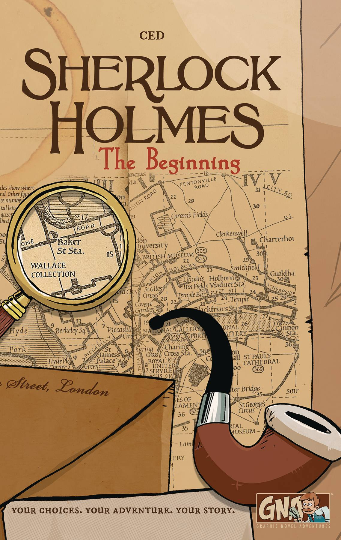 SHERLOCK HOLMES BEGINNING GRAPHIC NOVEL ADV HC