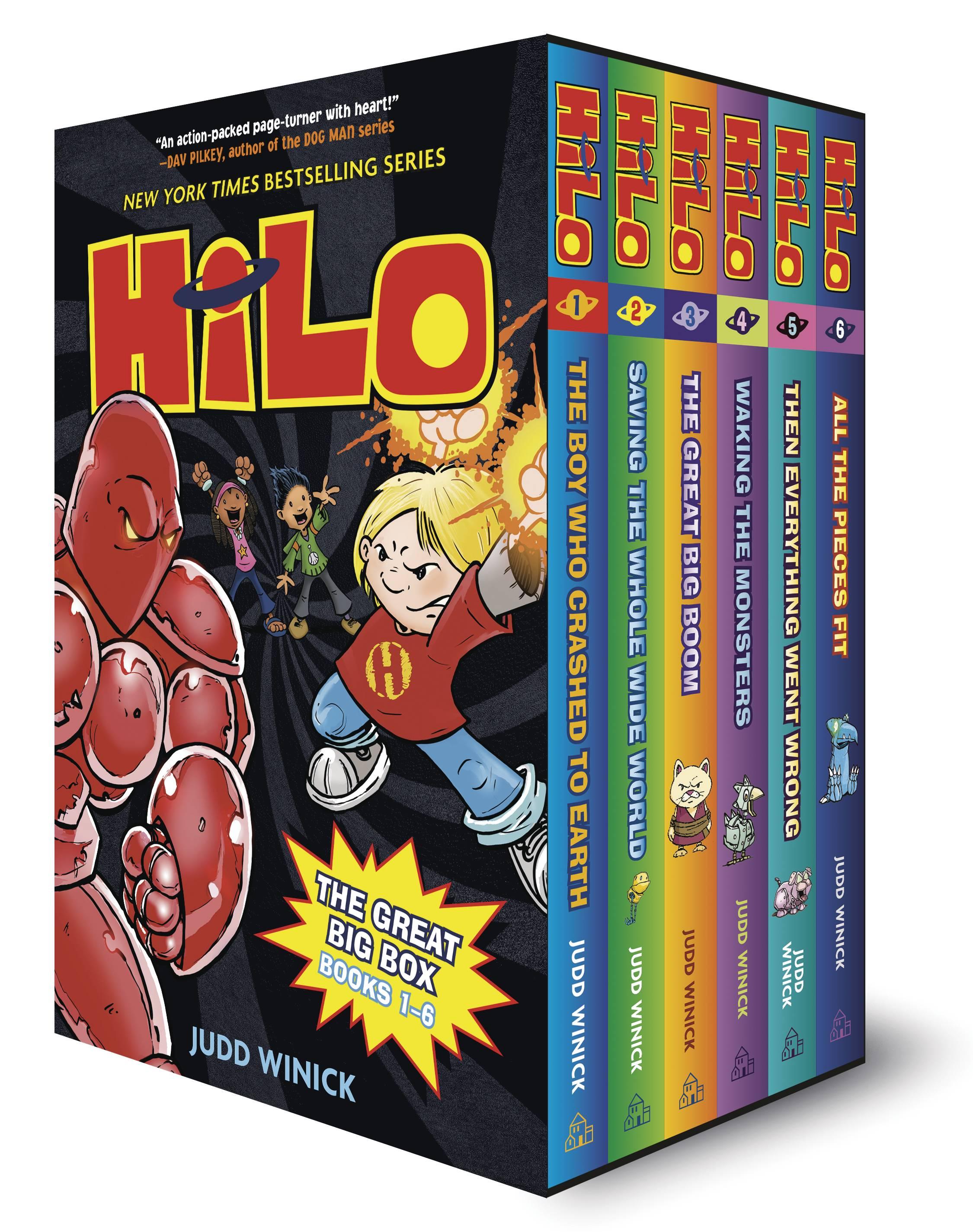 HILO GREAT HC BIG BOX SET