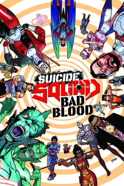 SUICIDE SQUAD HC 01 BAD BLOOD