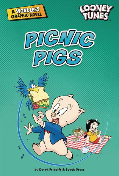 LOONEY TUNES WORDLESS GN PICNIC PIGS