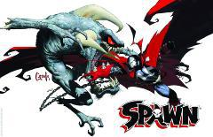 SPAWN 20TH ANNIVERSARY POSTER #1