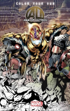 COLOR YOUR OWN AGE OF ULTRON TP