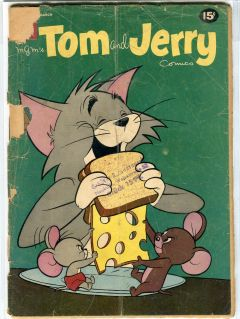 TOM AND JERRY COMICS (Dell)