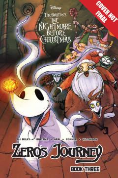 DISNEY MANGA NIGHTMARE CHRISTMAS ZEROS JOURNEY TP 03