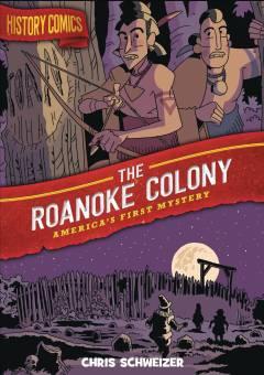 HISTORY COMICS TP ROANOKE COLONY