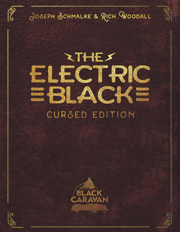 ELECTRIC BLACK CURSED ED MAGAZINE FORMAT