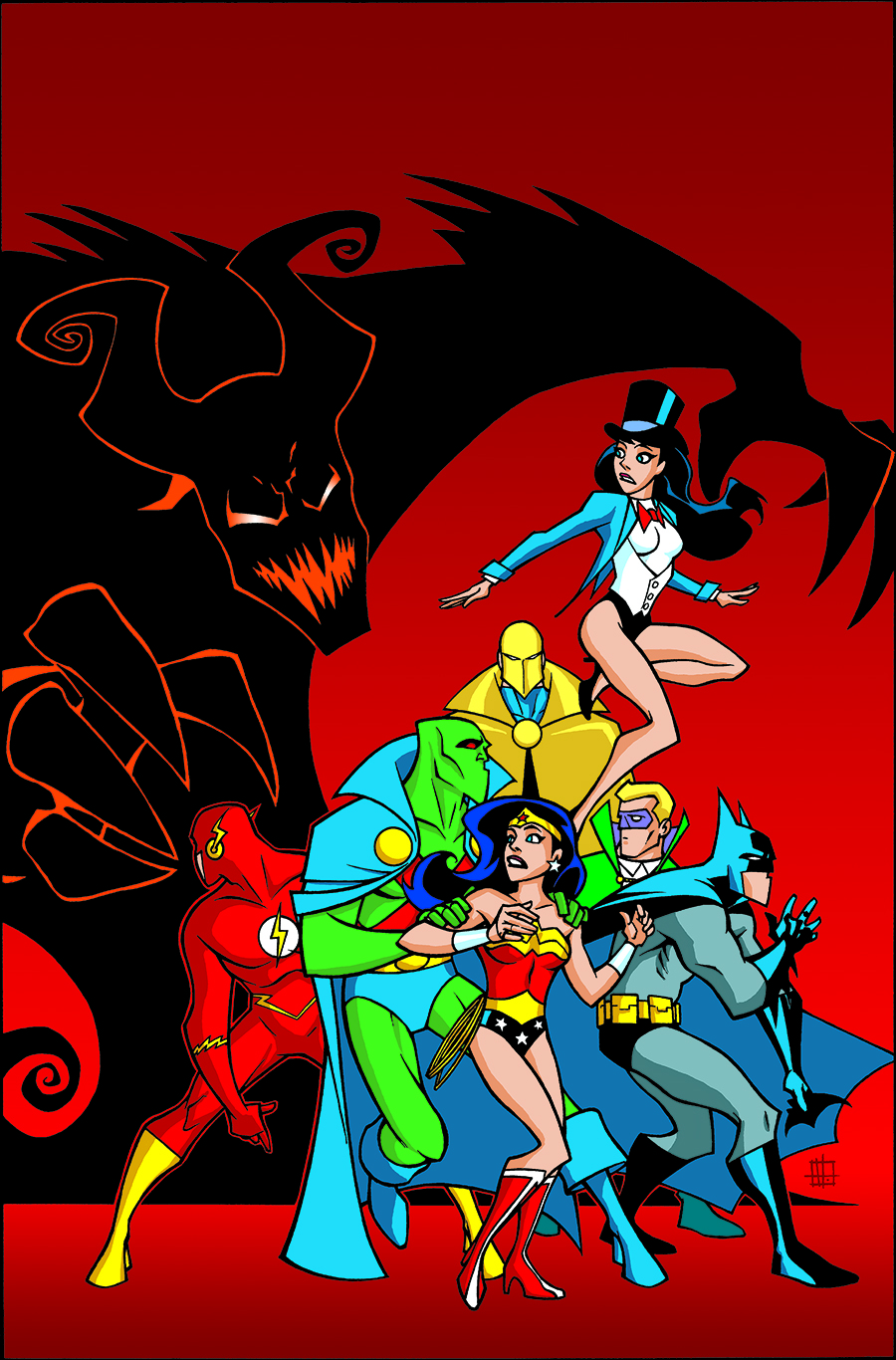 JUSTICE LEAGUE UNLIMITED TP HOCUS POCUS