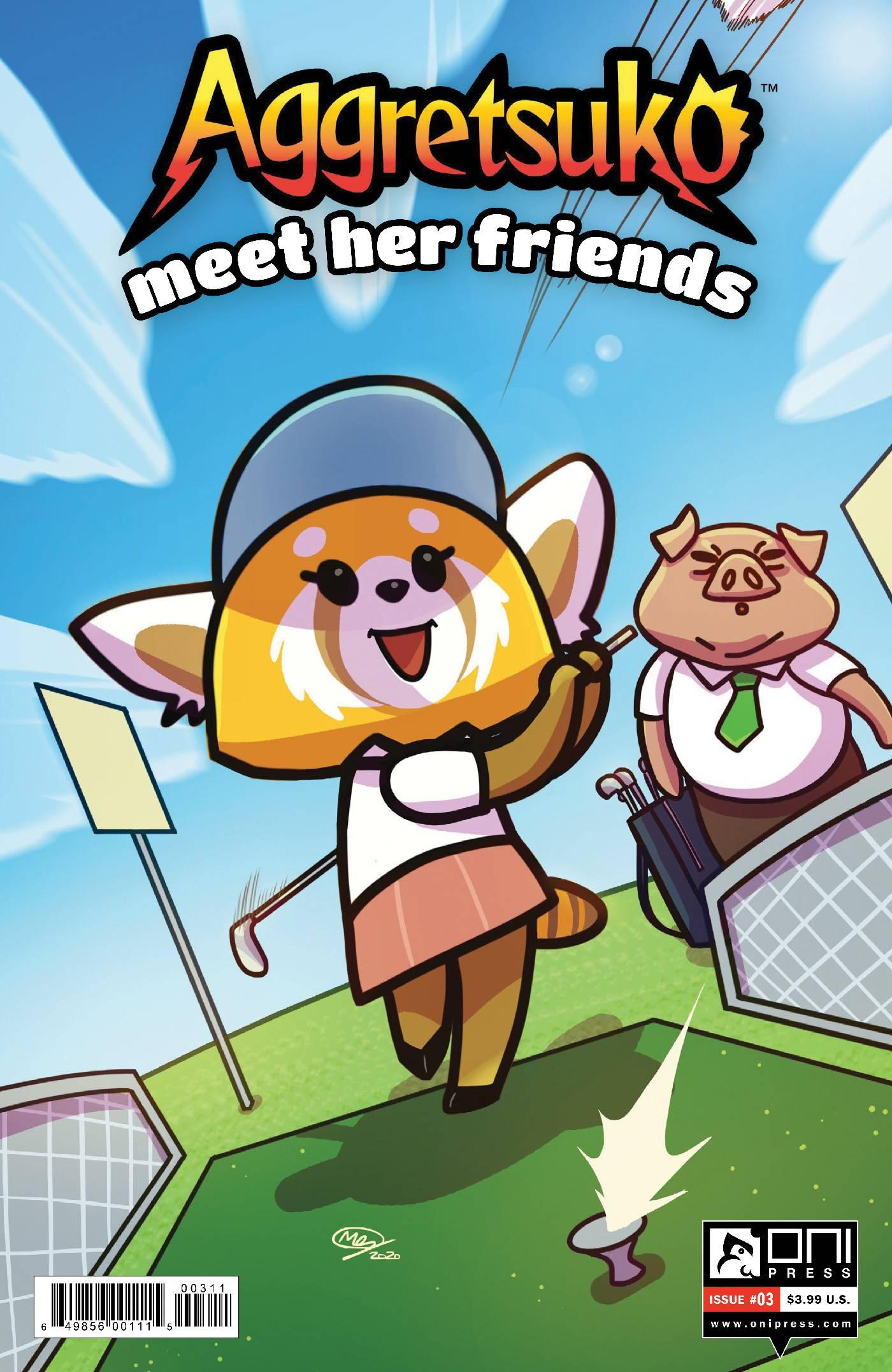 AGGRETSUKO MEET HER FRIENDS