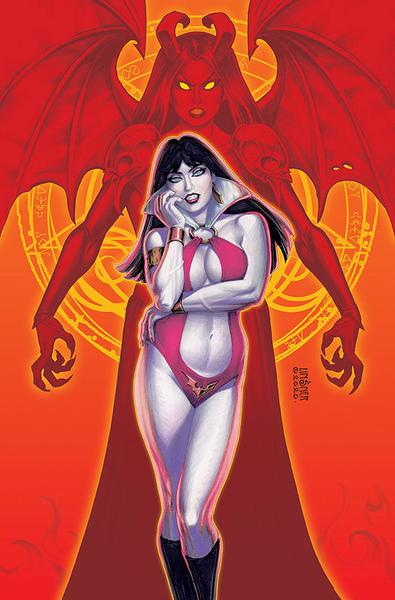 VAMPIRELLA VS PURGATORI LINSNER LTD VIRGIN CVR