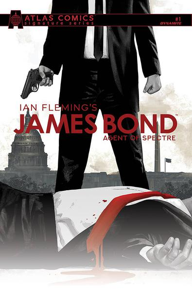 JAMES BOND AGENT OF SPECTRE GAGE SGN ATLAS ED