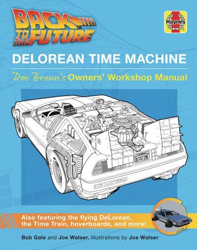 BACK TO THE FUTURE DELOREAN TIME MACHINE USERS MANUAL
