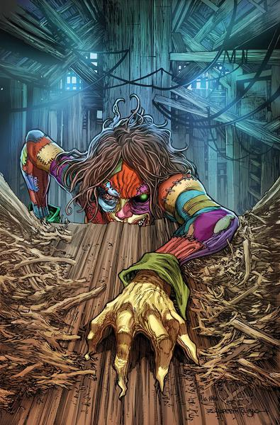OZ ANNUAL PATCHWORK GIRL ONE SHOT