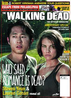 WALKING DEAD MAGAZINE NEWSSTAND ED