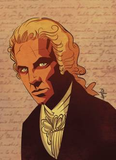HAMILTON GRAPHIC HIST AMERICAS CELEBRATED FOUNDING FATHER TP