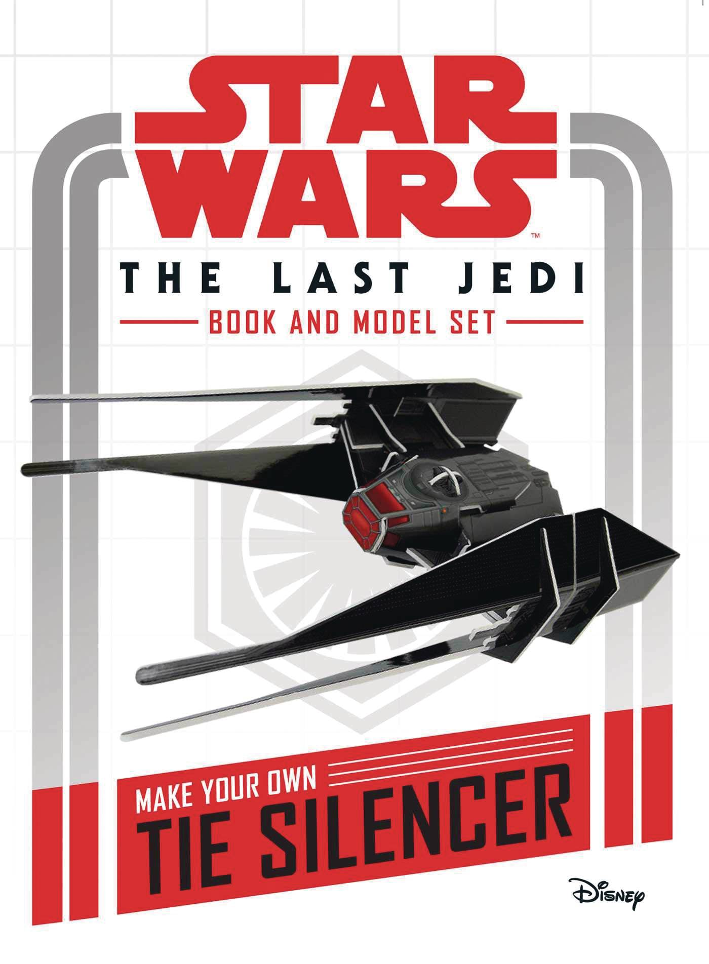 STAR WARS LAST JEDI BOOK & MODEL HC