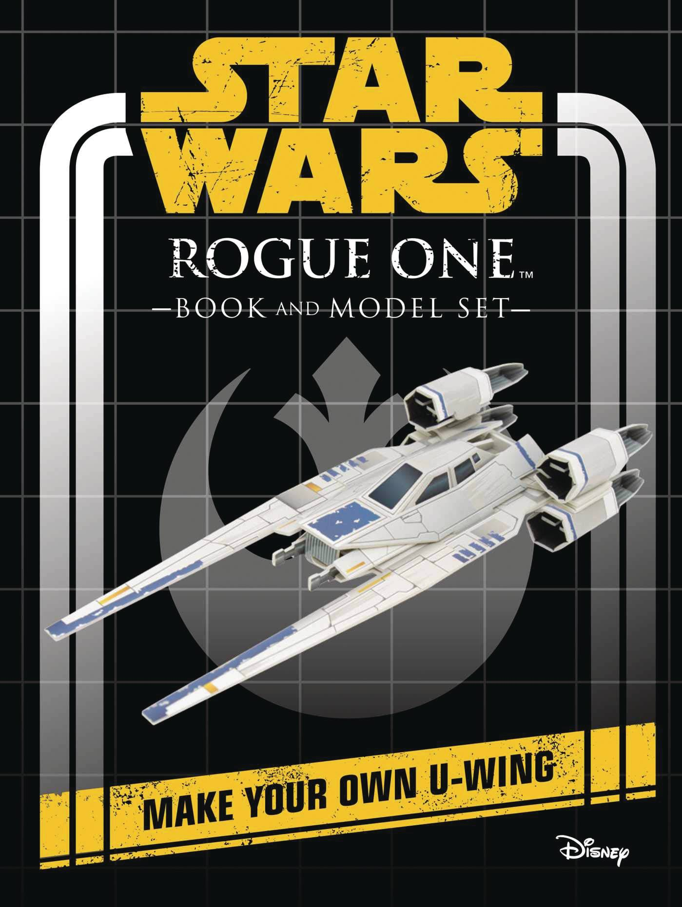 STAR WARS ROGUE ONE BOOK & MODEL HC