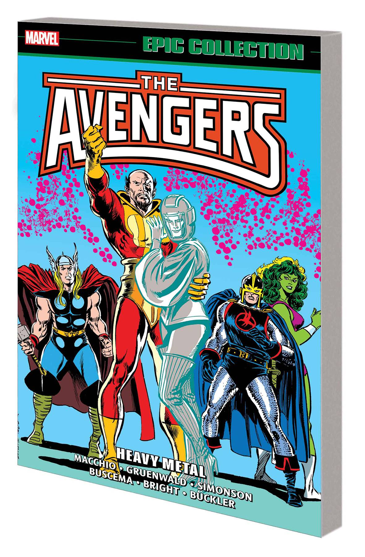 AVENGERS EPIC COLLECTION TP 18 HEAVY METAL