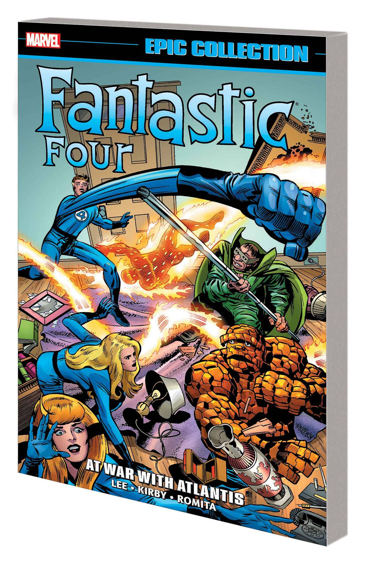 FANTASTIC FOUR EPIC COLLECTION TP 06 AT WAR WITH ATLANTIS