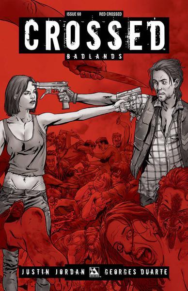 CROSSED BADLANDS RED CROSSED VAR