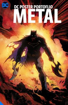 DC POSTER PORTFOLIO DARK NIGHTS METAL TP