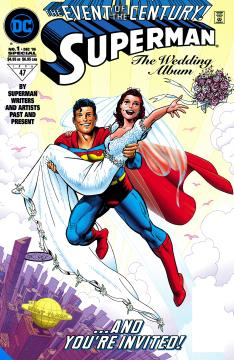 SUPERMAN & LOIS LANE THE 25TH WEDDING ANNIVERSARY DLX HC
