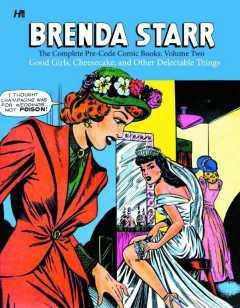 BRENDA STARR COMP PRE CODE COMICS HC 02 GOOD GIRLS