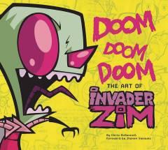 DOOM DOOM DOOM ART OF INVADER ZIM HC
