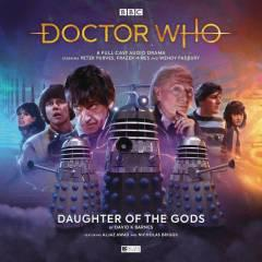 DOCTOR WHO EARLY ADV DAUGHTER OF GODS AUDIO CD