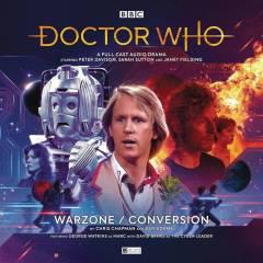 DR WHO 5TH DOCTOR WARZONE CONVERSION AUDIO CD
