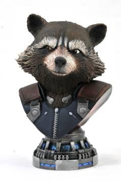 MARVEL LEGENDS IN 3D AVENGERS3 ROCKET RACCOON 1/2 SCALE BUST