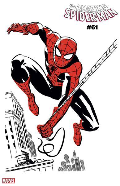 DF AMAZING SPIDERMAN #61 GLEASON SGN