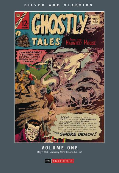 SILVER AGE CLASSICS GHOSTLY TALES HC 01