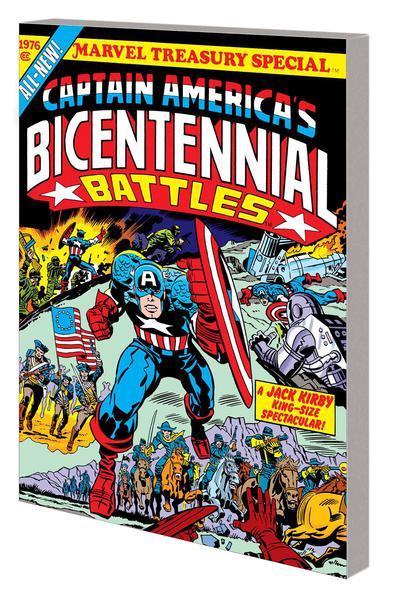 CAPTAIN AMERICA BICENTENNIAL BATTLES TREASURY ED TP 01