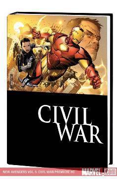 NEW AVENGERS Row 1 HC 05 CIVIL WAR