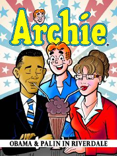ARCHIE OBAMA & PALIN IN RIVERDALE TP
